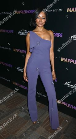 Editorial image of 'Mapplethorpe' Special Screening, Arrivals, New York, USA - 14 Feb 2019