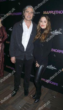 Peter Palandjian and Eliza Dushku