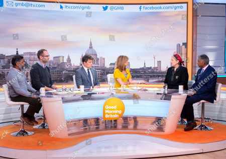 Editorial picture of 'Good Morning Britain' TV show, London, UK - 15 Feb 2019