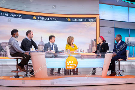 Editorial image of 'Good Morning Britain' TV show, London, UK - 15 Feb 2019