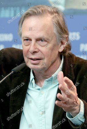 Joe Boyd attends the press conference of 'Amazing Grace' during the 69th annual Berlin Film Festival, in Berlin, Germany, 15 February 2019. The movie is presented in the Official Competition at the Berlinale that runs from 07 to 17 February.
