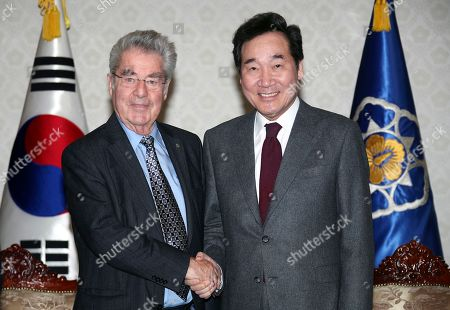 Editorial photo of Former Austrian president meets South Korean Prime Minister, Seoul, Korea - 15 Feb 2019