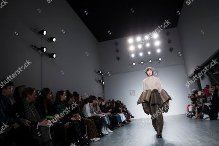 Editorial image of Fashion A/W ASAI 2019, London, United Kingdom - 15 Feb 2019