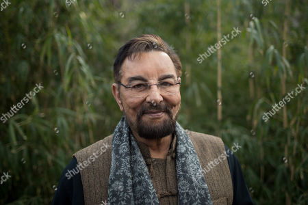 Editorial picture of Kabir Bedi adopts tiger in Budapest, Hungary - 15 Feb 2019