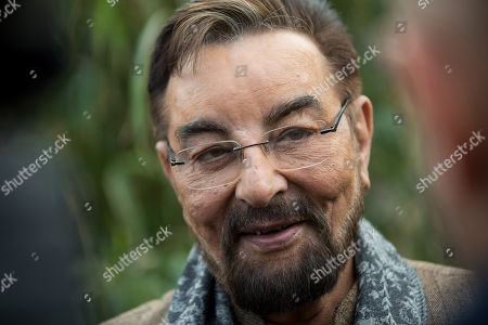 Indian actor and television presenter Kabir Bedi poses for photographs on the occasion of symbolically adopting a male Siberian tiger named Norbi during his visit to Budapest Zoo, in Budapest, Hungary, 15 February 2019. Bedi, who is know for playing the role of the pirate Sandokan in the 1976 Italian television mini series of the same title, arrived to the Hungarian capital as a special guest of the Italian film score composer brothers Guido and Maurizio De Angelis who scored the soundtrack for 'Sandokan' and who are scheduled to perform a concert in Budapest on 16 February 2019.