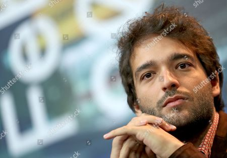 Humberto Carrao attends the press conference of 'Marighella' during the 69th annual Berlin Film Festival, in Berlin, Germany, 15 February 2019. The movie is presented in the Official Competition at the Berlinale that runs from 07 to 17 February.