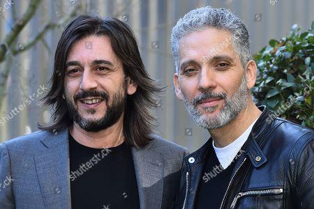 Enzo Muscia and Giuseppe Fiorello