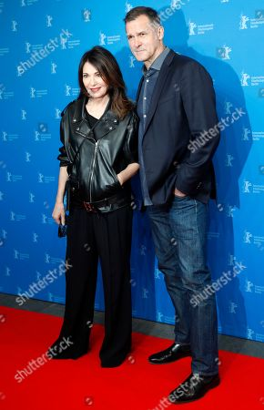 Iris Berben and partner Heiko Kiesow pose during the photocall of 'Women Stories' during the 69th annual Berlin Film Festival, in Berlin, Germany, 15 February 2019. The documentary tells the story of Lindbergh, considered one of the most important photographers of the 20th century. The Berlinale runs from 07 to 17 February.