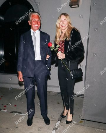 Stock Image of George Hamilton and Alana Stewart