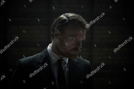Stock Image of Richard Riddell as DS Alan Jago.