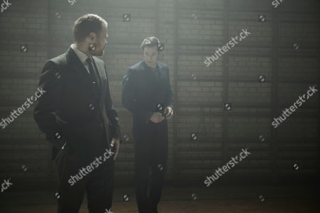 Simon Harrison as DCI Box and Richard Riddell as DS Alan Jago.