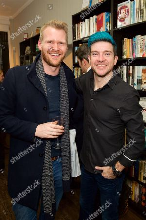 Stock Image of Will Nash and Stuart Fenegan