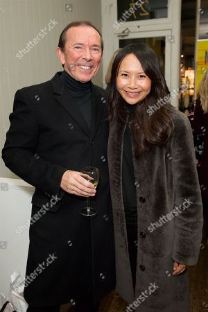 Editorial image of Tony Kent 'Marked For Death' book launch, London, UK - 12 Feb 2019