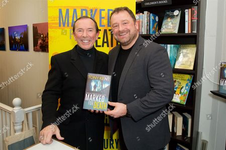 Editorial photo of Tony Kent 'Marked For Death' book launch, London, UK - 12 Feb 2019