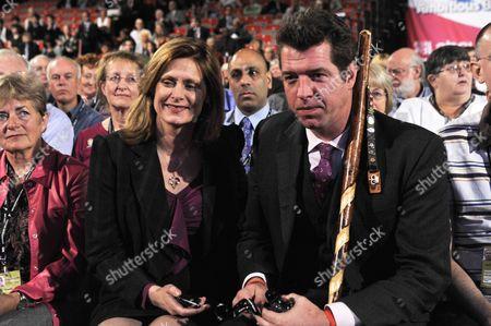 Sarah Brown and Major Phil Packer