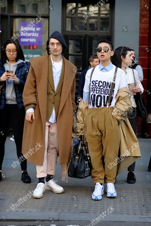 Stock Image of Street style