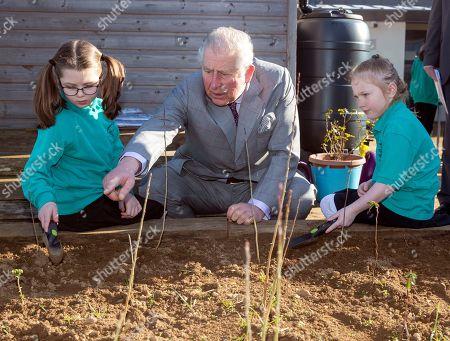 Prince Charles visit to Bletchingdon