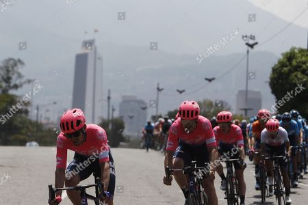Editorial picture of Jungels wins the fourth stage of Tour Colombia, Medellin - 15 Feb 2019