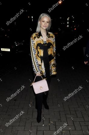 Editorial photo of Mulberry Reflections party, Fall Winter 2019, London Fashion Week, UK - 15 Feb 2019