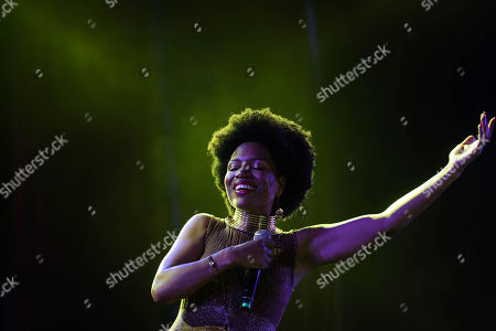 Editorial photo of Womad Festival in Chile, Santiago - 15 Feb 2019