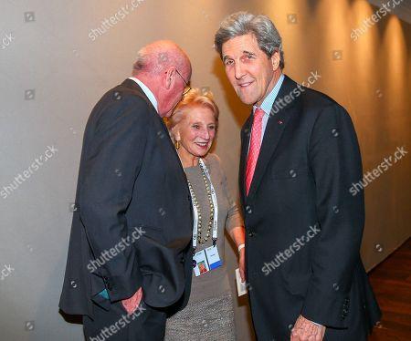 Wolfgang Seybold, Jane Harman, John Kerry