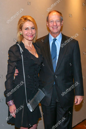 Stock Picture of US-Botschafter John B Emerson with wife Kimberley