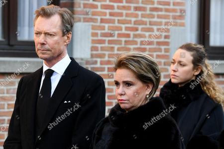 Funeral of Princess Alix Of Luxembourg, Beloeil