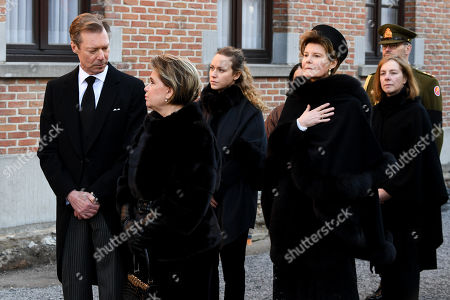 Editorial image of Funeral of Princess Alix Of Luxembourg, Beloeil, Belgium - 16 Feb 2019