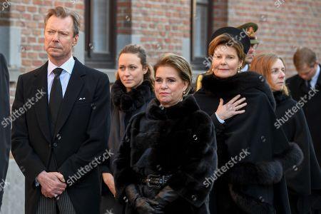 Grand Duke Henri of Luxembourg, Grand Duchess, Maria Teresa Mestre, Princess Margaretha of Liechtenstein de Luxembourg