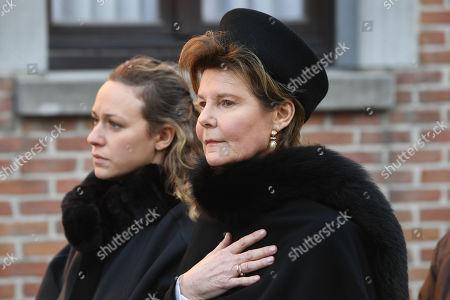 Stock Picture of Princess Margaretha of Liechtenstein de Luxembourg