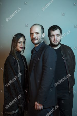 Alice Belaidi, Thomas Lilti and Karim Leklou