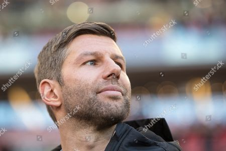 StuttgartÕs director of sports Thomas Hitzlsperger is seen prior the German Bundesliga soccer match between VfB Stuttgart and RB Leipzig in Stuttgart, Germany, 16 February 2019. CONDITIONS - ATTENTION: The DFL regulations prohibit any use of photographs as image sequences and/or quasi-video.