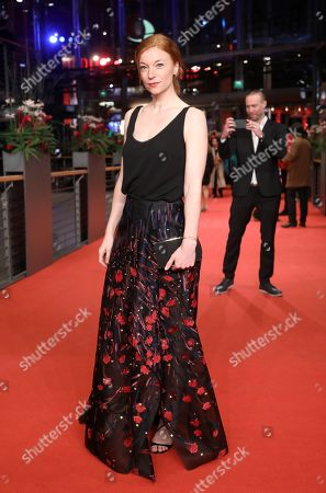 Marleen Lohse arrives for the Closing and Awards Ceremony during the 69th annual Berlin Film Festival, in Berlin, Germany, 16 February 2019. The Berlinale that runs from 07 to 17 February.