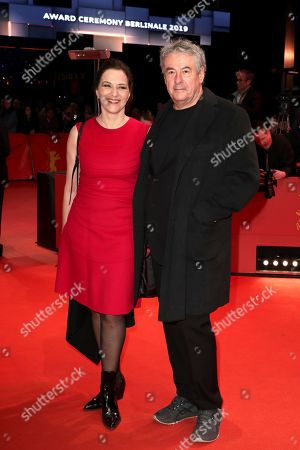 Martina Gedeck (L) and Markus Imboden arrive for the Closing and Awards Ceremony during the 69th annual Berlin Film Festival, in Berlin, Germany, 16 February 2019. The Berlinale that runs from 07 to 17 February.