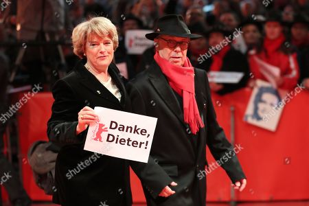 Monika Grütters and Festival director Dieter Kosslick arrive at the Closing and Awards Ceremony during the 69th annual Berlin Film Festival, in Berlin, Germany, 16 February 2019. The Berlinale that runs from 07 to 17 February.