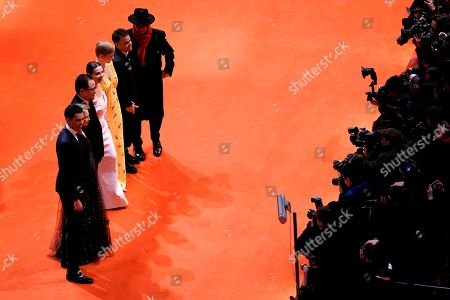 Members of the International Jury Sebastian Lelio, Juliette Binoche, Rajendra Roy,Trudie Styler, Justin Chang and Sandra Hueller arrive for the Closing and Awards Ceremony during the 69th annual Berlin Film Festival, in Berlin, Germany, 16 February 2019. The Berlinale that runs from 07 to 17 February.