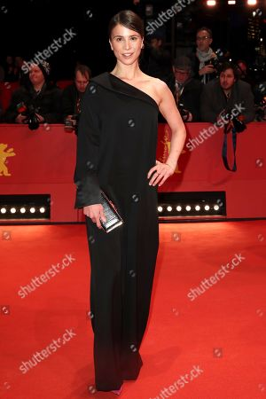 Aylin Tezel arrives for the Closing and Awards Ceremony during the 69th annual Berlin Film Festival, in Berlin, Germany, 16 February 2019. The Berlinale that runs from 07 to 17 February.