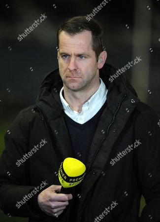 Stock Picture of Chris Paterson, ex-Scotland international and TV commentator for Premier Sports channel.