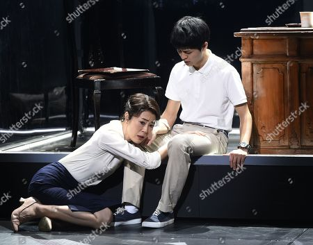 Editorial picture of 'Kafka on the shore' play, Paris, France - 15 Feb 2019