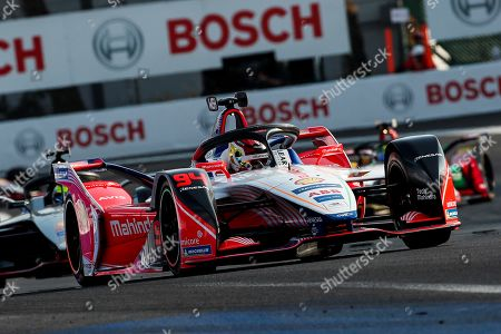 German driver Pascal Wehrlein of Mahindra Racing team competes in the Formula E Grand Prix of Mexico City at the Hermanos Rodriguez Autodrome in Mexico City, Mexico, 16 February 2019.