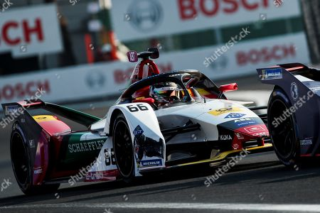 German driver Daniel Abt of Audi Sport Abt Schaeffler team competes in the Formula E Grand Prix of Mexico City at the Hermanos Rodriguez Autodrome in Mexico City, Mexico, 16 February 2019.