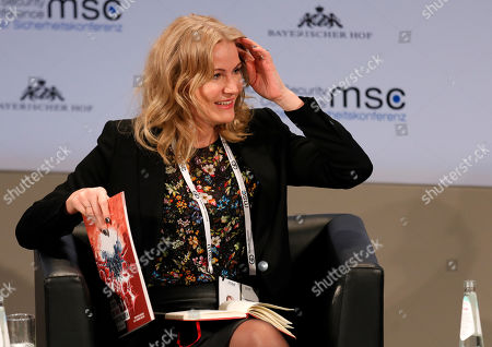 CEO of Save the Children International, Helle Thorning-Schmidt reacts during the 55th Munich Security Conference (MSC) in Munich, Germany, 17 February 2019. From 15 to 17 February, politicians, various experts and guests from all over the world will discuss global security issues in their annual meeting.