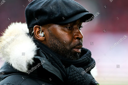 Andy Cole on presenting duties for BT Sport