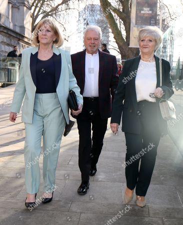Stock Photo of Jackie Adams, Tony Adams, Sandra West