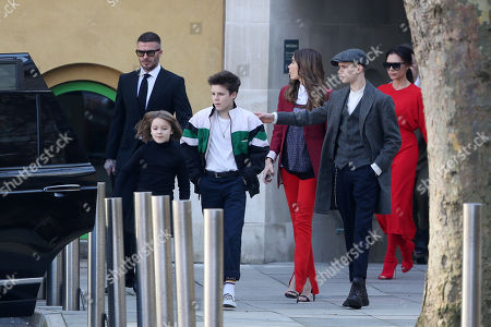 Editorial picture of Victoria Beckham show, Departures, Fall Winter 2019, London Fashion Week, UK - 17 Feb 2019