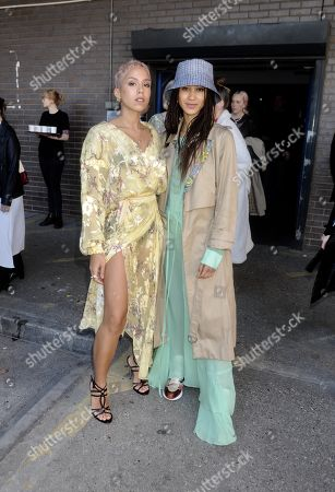 Editorial picture of Celebrities out and about, London Fashion Week, UK - 17 Feb 2019