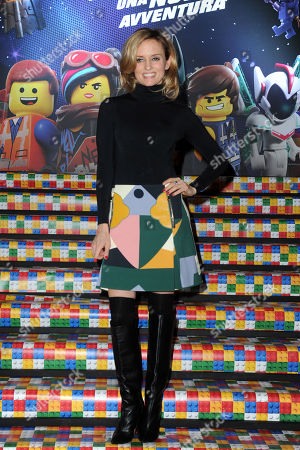 Editorial image of 'The Lego Movie 2: The Second Part' film premiere, Milan, Italy  - 17 Feb 2019