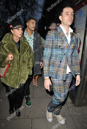 Stock Image of Fran Cutler and Nick Grimshaw