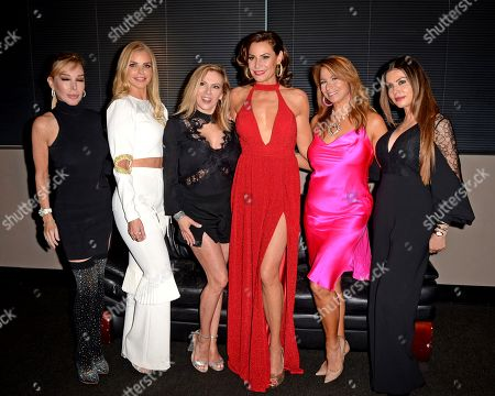 Marysol Patton, Alexia Echevarria, Ramona Singer, LuAnn de Lesseps, Jill Zarin, Adriana De Moura