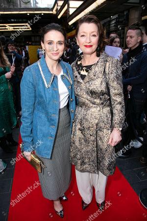 Charlene McKenna and Lesley Manville
